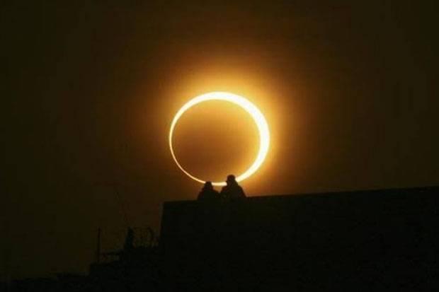 Gerhana Matahari Cincin Bisa Diamati dari Manado