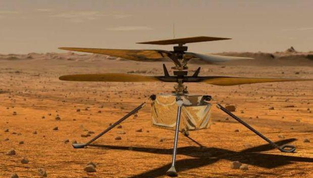 NASA Siap Kirim Helikopter Pertamanya ke Mars Bulan Depan