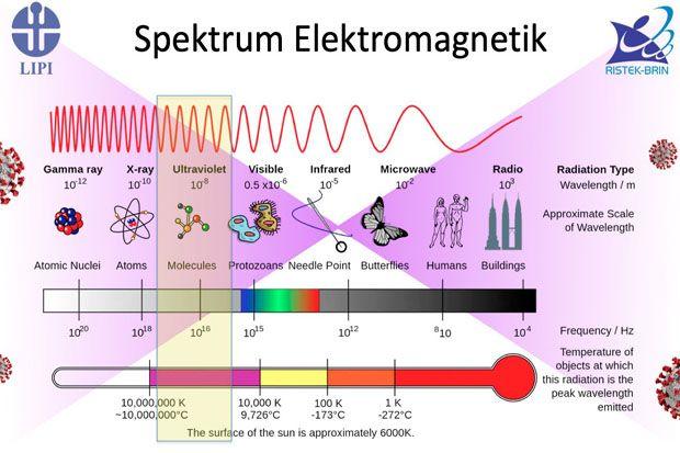 Peneliti LIPI Tegaskan Sinar UV-C Pembunuh Virus Berbahaya Bagi Manusia