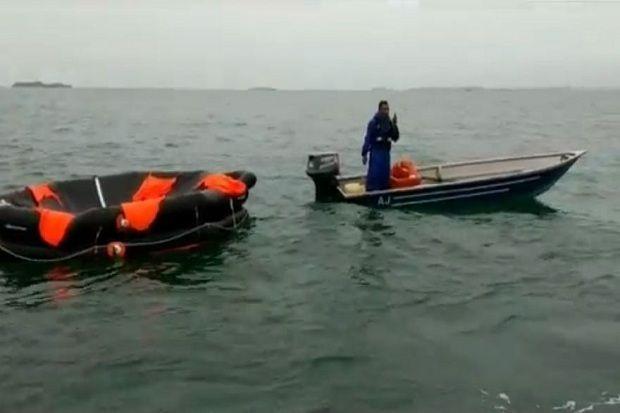 Kapal Tugboat Tenggelam, 4 ABK Selamat Nahkoda Hilang