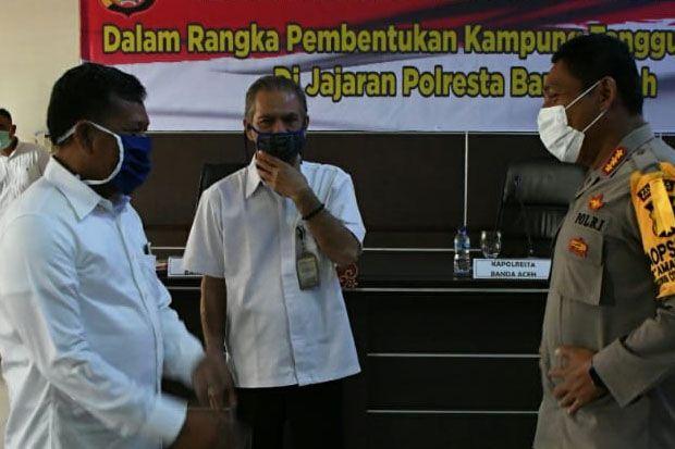 Pemko Dukung Polresta Bentuk Kampung Tangguh Nusantara di Banda Aceh