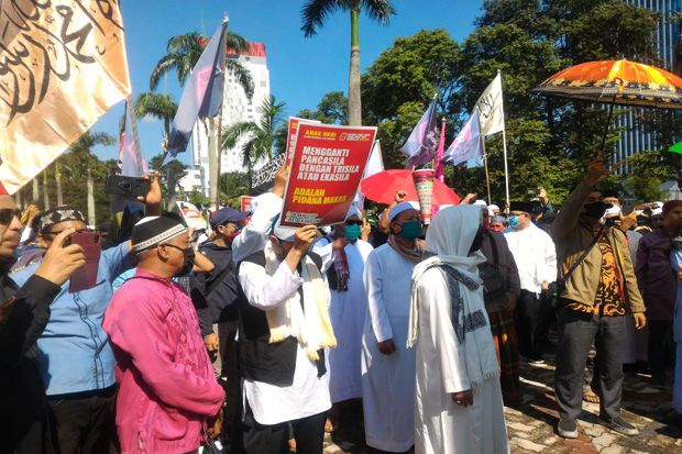 Demo RUU HIP, Ormas di Sumsel Minta Presiden Bubarkan BPIP