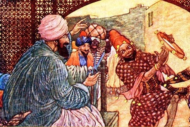 Abu Nawas Bikin Sensasi Agar Dipanggil Baginda