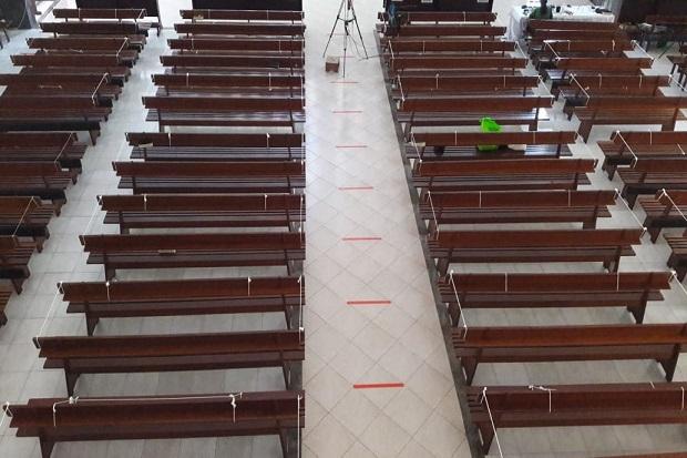 Keuskupan Agung Semarang Ijinkan Gereja Gelar Ibadah Mulai 18 Juli 2020