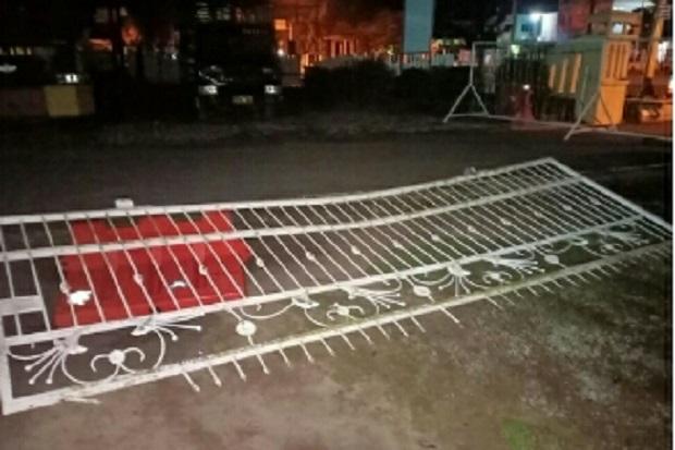 Serang Anggota Piket Penjagaan Polres OKI, Pelaku Tewas Ditembak