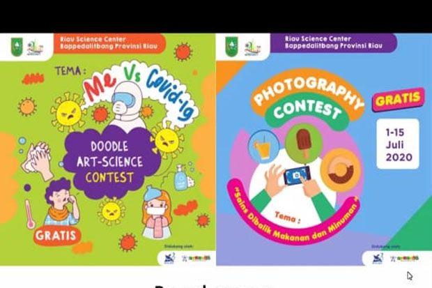 Hai Pelajar, Yuk Ikutan Doodle Art Science Contest dan Photography Contest