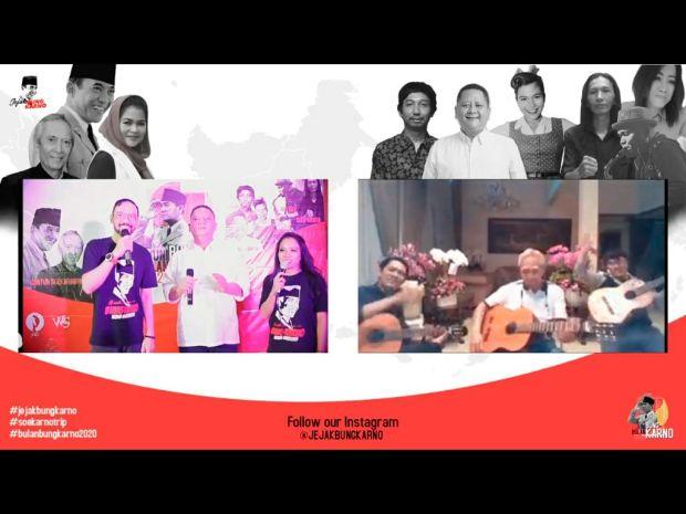 Kado Istimewa Guntur Seokarnoputra di Perayaan Bulan Bung Karno 2020