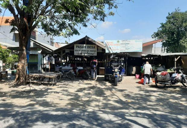 Gara-gara COVID-19, Dua Pasar di Gresik Terpaksa Tutup Tujuh Hari