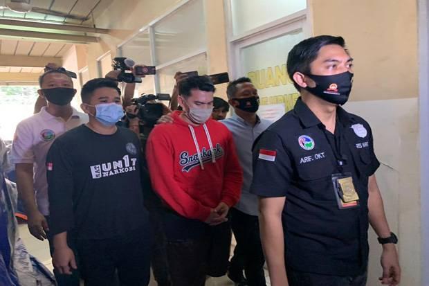 Polisi Ciduk Penyuplai Sabu Ridho Ilahi di Bandung