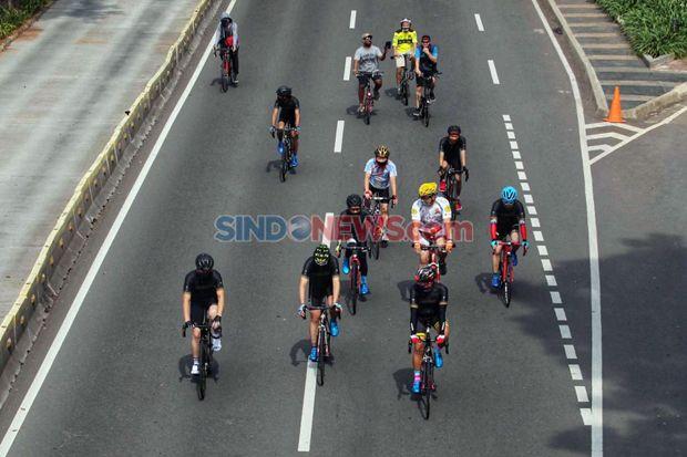 Jumlah Pesepeda Meningkat, DKI Fokus Bangun Jalur Sepeda Sementara di Sudirman-Thamrin
