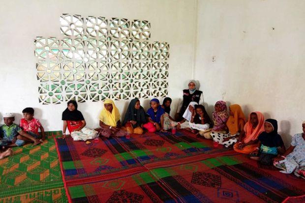 ACT Terus Dampingi dan Siapkan Pangan Untuk Penyintas Rohingya di Aceh