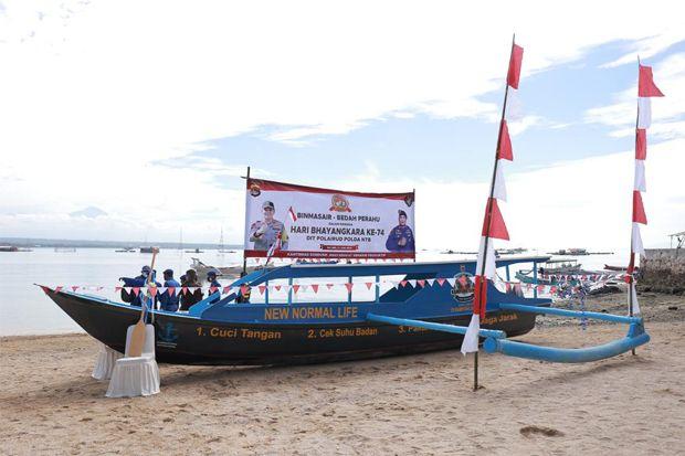 Bedah Perahu Polda NTB, Siswa SD Tak Lagi Berjibaku dengan Maut
