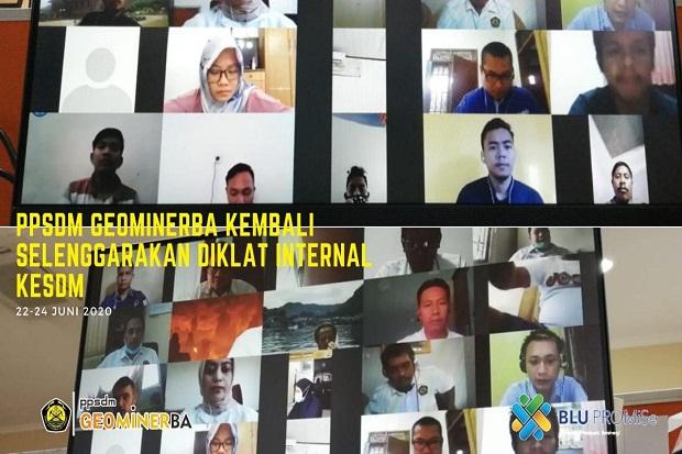 PPSDM Geominerba Laksanakan 2 Diklat untuk Internal Kemen ESDM