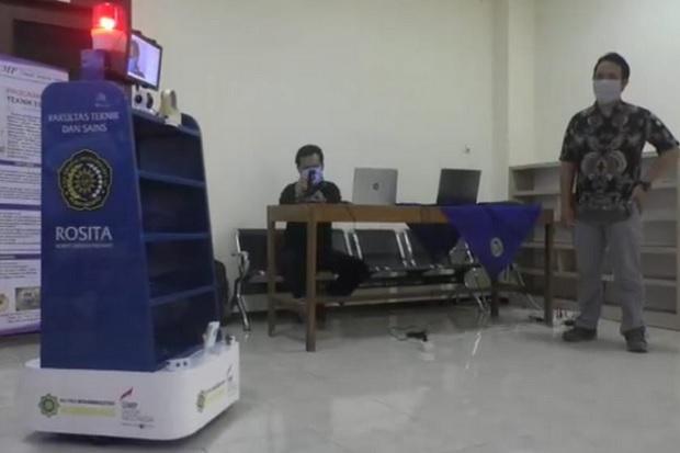 Robot Rosita dari UMP Bantu Perawat Layani Pasien COVID-19