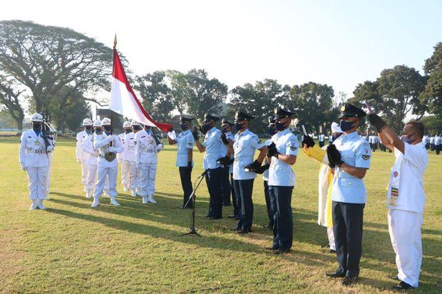 Komandan Lanud Adi Soemarmo Menutup Pendidikan Semaba PK TNI AU A-45