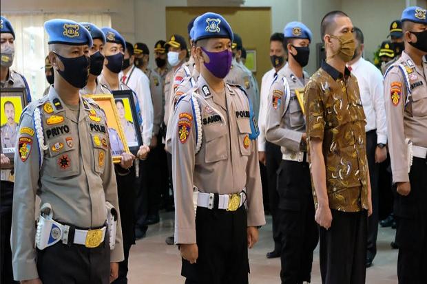 Terjerat Narkoba, Sembilan Anggota Polda Sumsel Dipecat Tidak Hormat