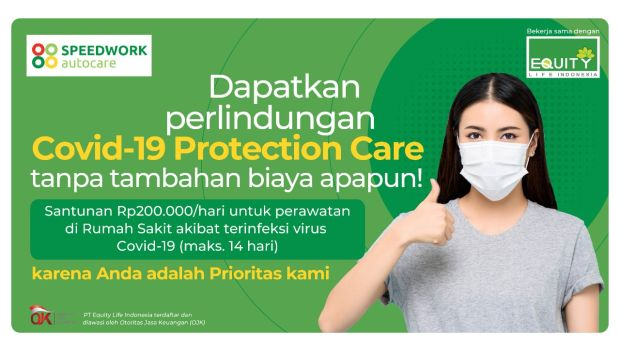 Equity Life Indonesia Gandeng Speedwork Luncurkan COVID-19 Protection Care