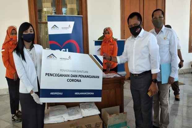 Bantu Tangani COVID-19, PT BSI Serahkan Bantuan Ventilator dan APD Ke Pemprov Jatim