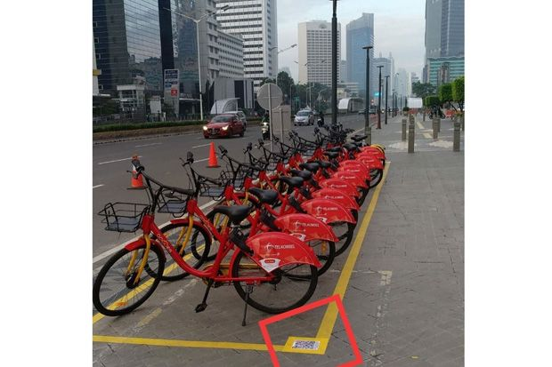 Ini 9 Titik Layanan Bike Sharing di Jakarta