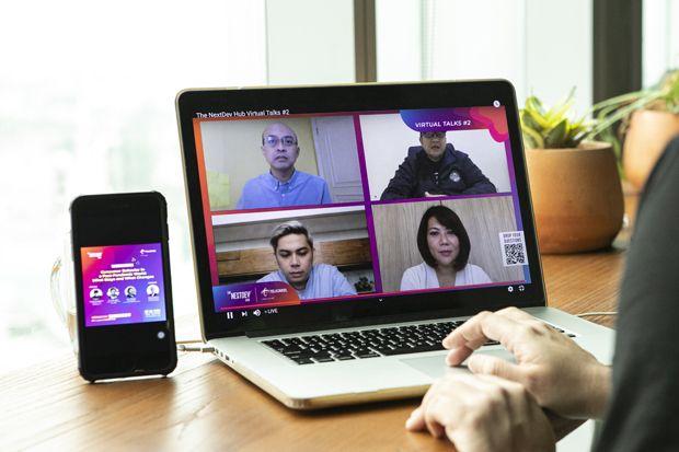 The NextDev Hub Virtual Talks Dorong Komunitas Startup Terus Berinovasi