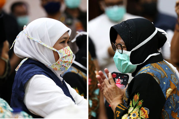 Langkah Tak Seiring 2 Ibu Dalam Kendalikan Pandemi Covid-19