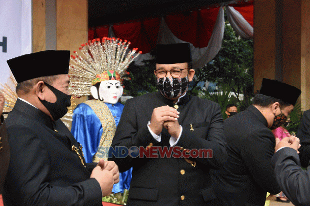 Survei IPO: Anies Baswedan Kepala Daerah Paling Responsif Tangani Covid-19