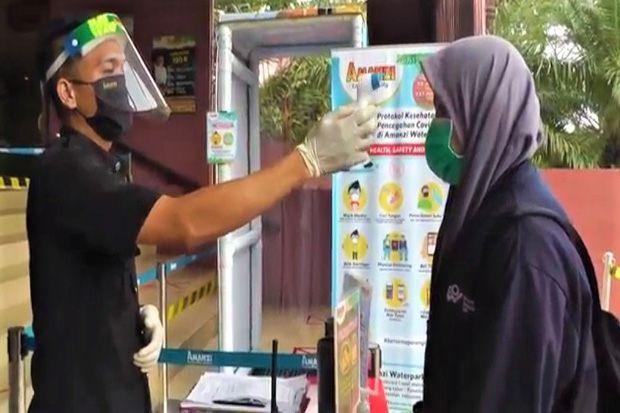 Penerapan Protokol Kesehatan di Lokasi Wisata di Palembang Diperketat