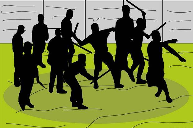 Provokasi di Media Sosial Berujung Saling Serang Dua Kelompok di Jakbar