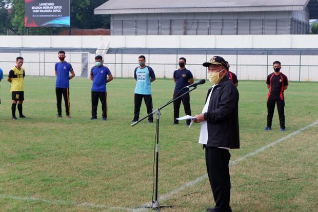 Covid-19 Masih Ancaman, Pemkot Depok Batasi Fasilitas Olahraga Hanya untuk Latihan