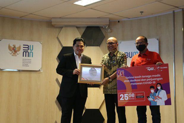 Telkomsel Sediakan Kuota Data 25 GB Per Bulan Gratis Bagi Relawan COVID-19