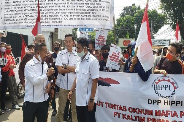 Massa Demo Kantor Dirjen Minerba, Tuntut Tak Perpanjang Izin PT KPC