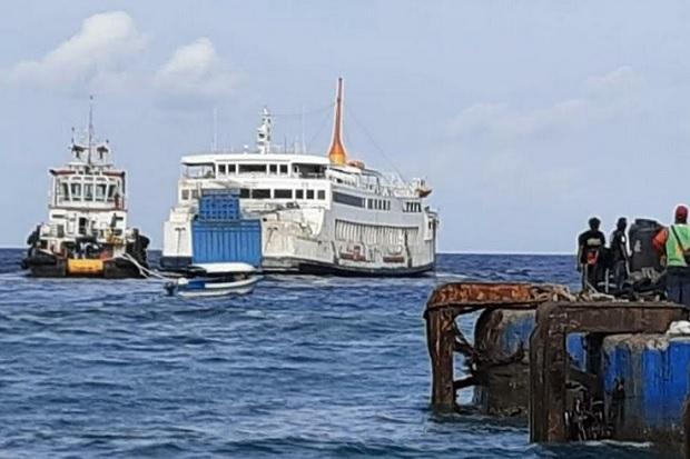 Sebulan Karam di Bali, KMP Dharma Rucitra III Berhasil Dievakuasi