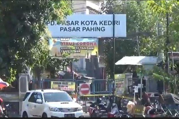 Satu Pedagang Terpapar Corona Pasar Pahing Kediri Ditutup