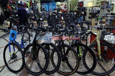 Bike Sharing Disenangi Warga, Jumlah Armada Sepeda Bakal Diperbanyak Lagi