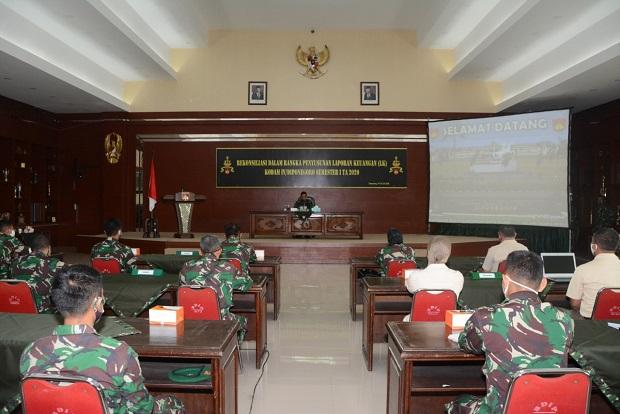 Pejabat Kodam IV Digembleng Rekonsiliasi Laporan Keuangan
