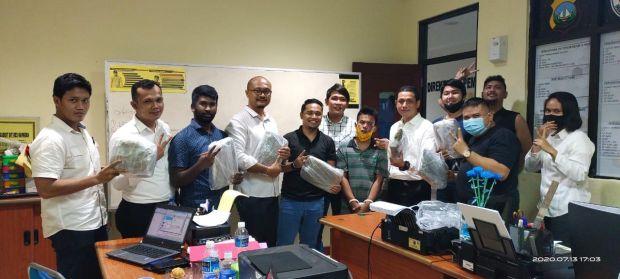 Ditresnarkoba Polda Kepri Tangkap Pria Pemilik 6,8 Kg Ganja
