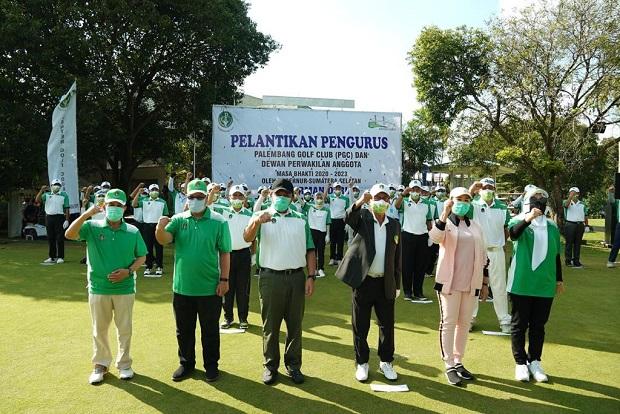 Gubernur Sumsel: Olahraga Golf Tidak Terpisah dengan Kalangan Umum