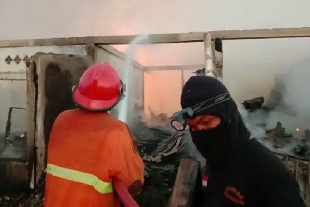 Pasar Central Youtefa Jayapura Papua Terbakar, Ratusan Los Ludes