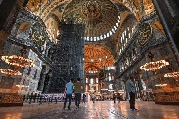 Selain Hagia Sophia, Ini yang Jadi Korban Setelah Kesultanan Utsmani Runtuh