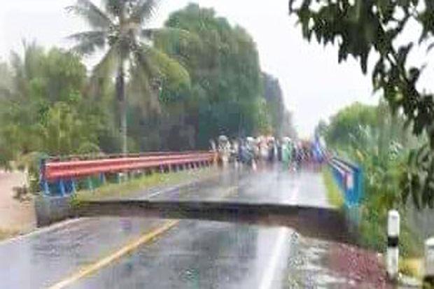 Banjir di Bolmong Raya Meluas, Jembatan Kosio di Dumoga Putus