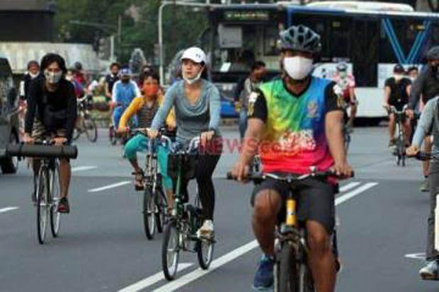 Permintaan Ketua RW, Kawasan Khusus Pesepeda Jalan Pemuda Rawamangun Ditiadakan