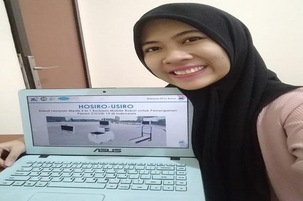 Robot Buatan Mahasiswa ITS Bisa Bantu Penanganan COVID-19