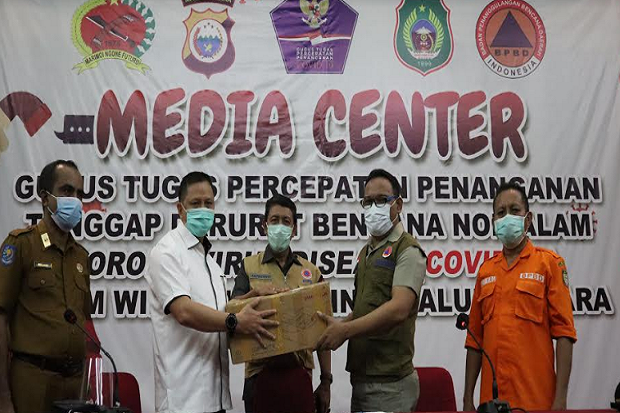 Gugus Tugas Maluku Utara Terima Bantuan 6 Unit Ventilator