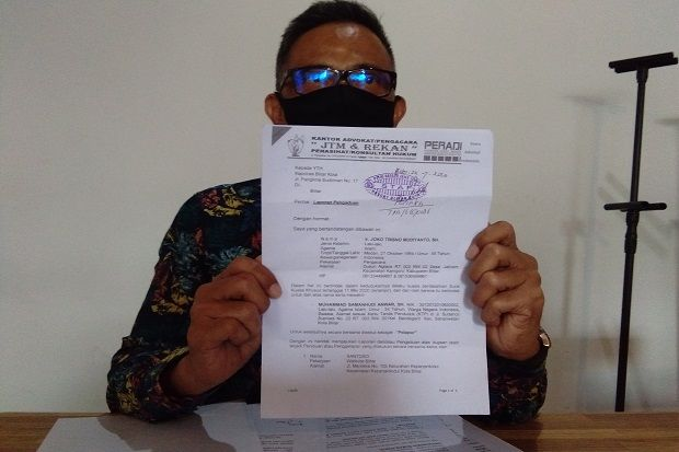 PDIP Belum Sikapi Dipolisikannya Wali Kota Blitar Santoso