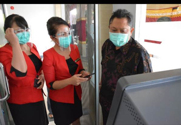 Walikota Rai Mantra Apresiasi ATM Tanpa Kartu LPD Kesiman