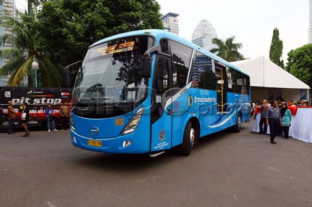 Uji Coba Bus JRC, Tarif Dipatok Rp15.000