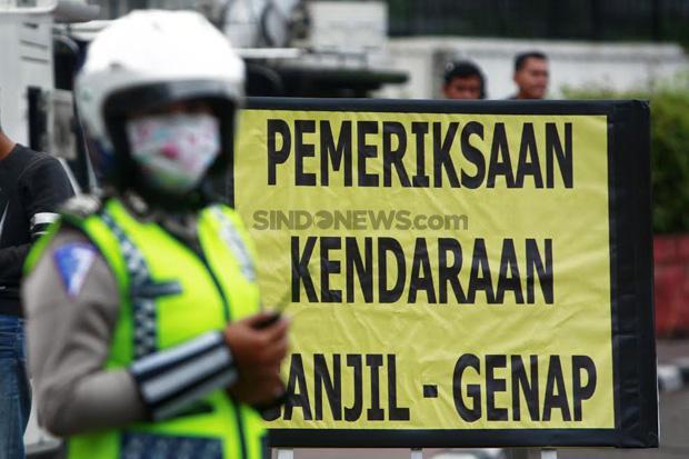 Ini Alasan DKI Kembali Terapkan Ganjil Genap di Tengah Pandemi Covid-19