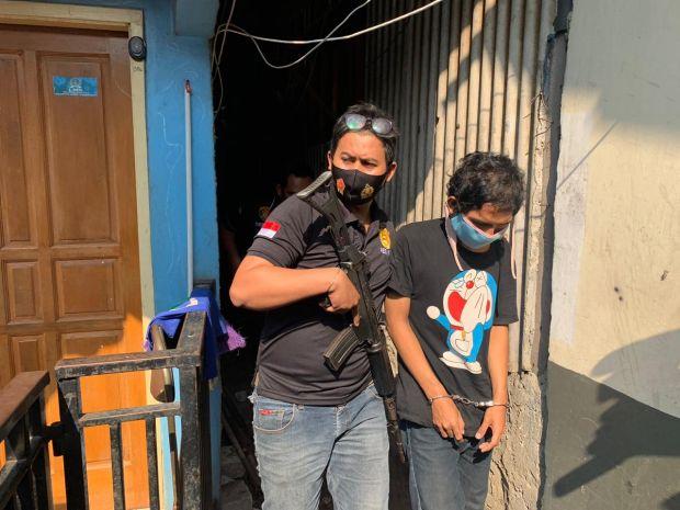 3 Begal Bersenjata Tajam Diciduk Polsek Tambora dari Rumah Kontrakan
