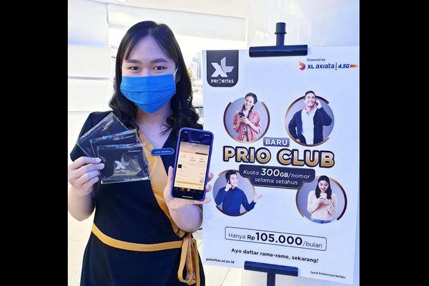 Program PRIO Club Membuat XL Prioritas Semakin Menarik Bagi Pelanggan