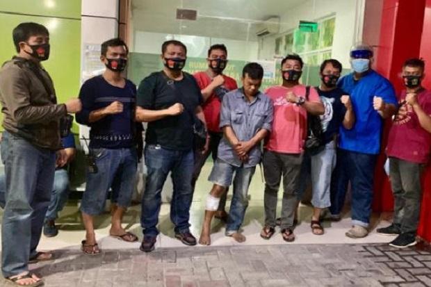 Pembobol Rumah Tersungkur Ditembak Polisi di Pancurbatu